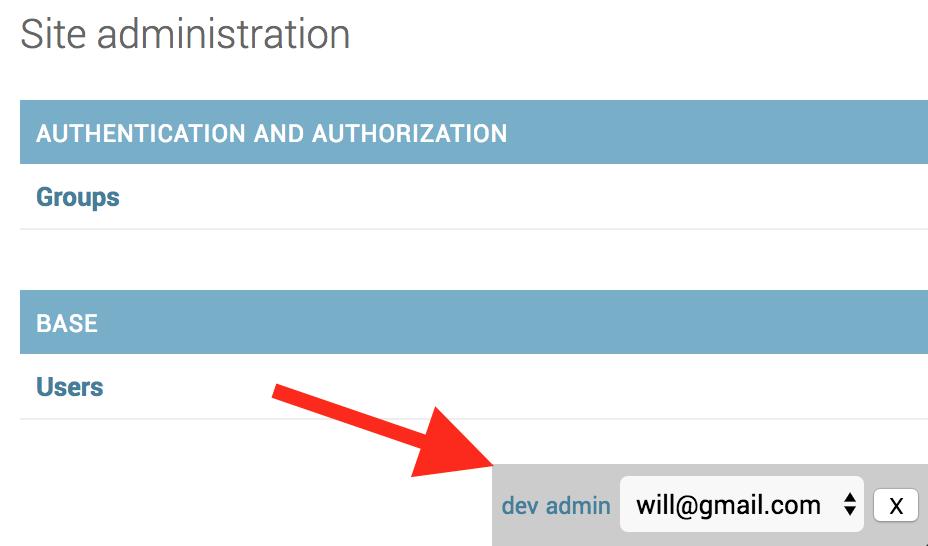 developer toolbar
